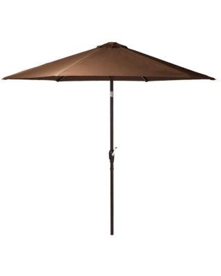 Master Grayton LED Illuminated Tiltable Patio Umbrella with USB Outlet