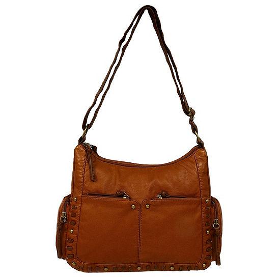St. John's Bay Whipstitch Shoulder Bag
