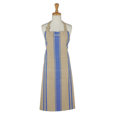 French Blue Stripe Chef Apron