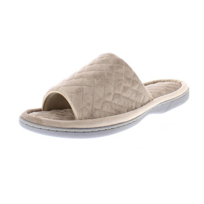 Gold Toe Quilted Slip-On Slippers