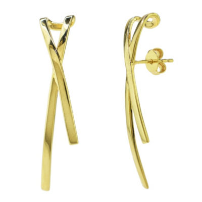 Sechic 14K Gold Ear Pins