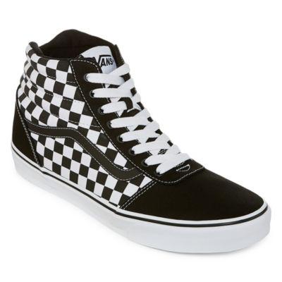 Vans Ward Hi Mens Skate Shoes Lace-up
