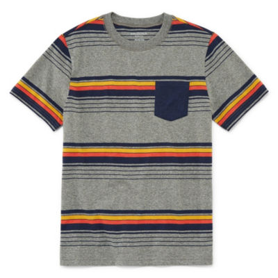 Arizona Short Sleeve Stripe T-Shirt Boys 4-20