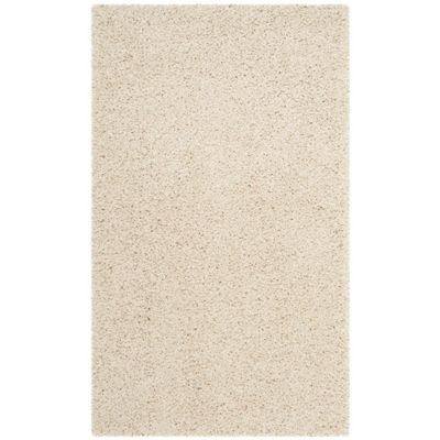 Safavieh Laguna Shag Collection Claes Solid Area Rug