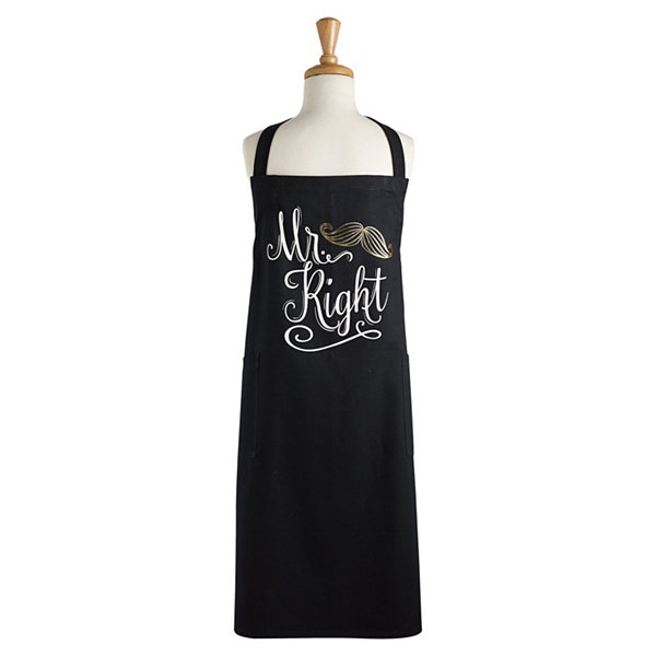 Mr. Right Printed Chef Apron