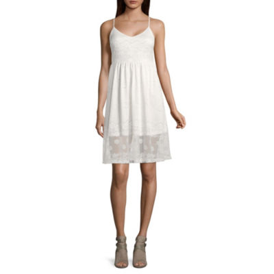 Libby Edelman Sleeveless Stretch Lace Dress