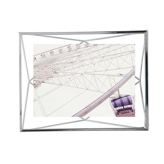 Umbra Prisma Photo Display 5x7 Chrome 1-Opening Tabletop Frame