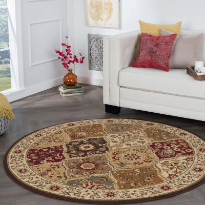 Tayse Elegance Cambridge Round Area Rug