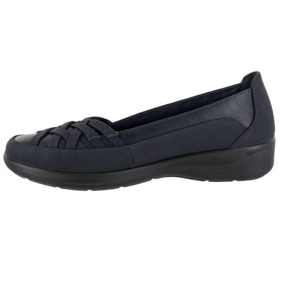 Easy Street Womens Vista Slip-On Shoes Slip-on Round Toe