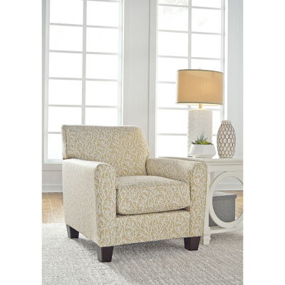 Signature Design By Ashley® Ayanna Nuvella Floral Accent Chair
