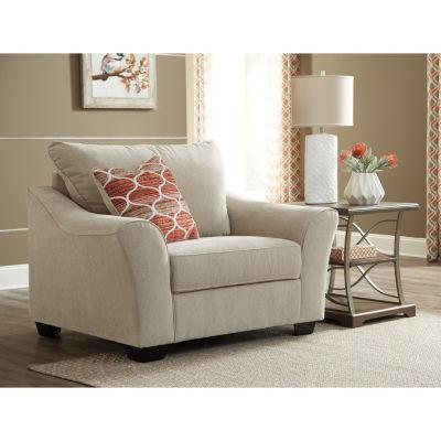 Signature Design By Ashley® Lisle Nuvella Oversized Chair