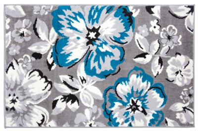 World Rug Gallery Modern Floral Rectangular and Round Rugs