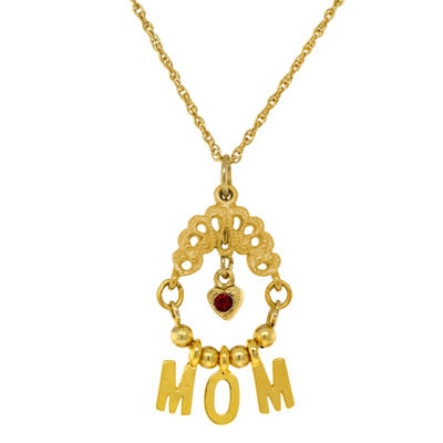 1928 Mother'S Day Items Womens Brass Statement Necklace