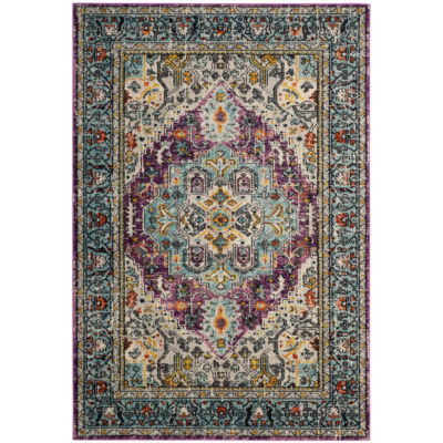 Safavieh Monaco Collection Joella Oriental Round Area Rug