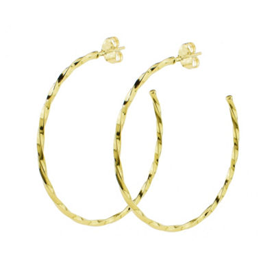 Sechic 14K Gold Hoop Earrings