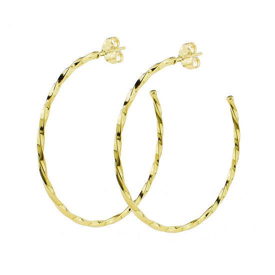 Sechic 14K Gold Hoop Earrings