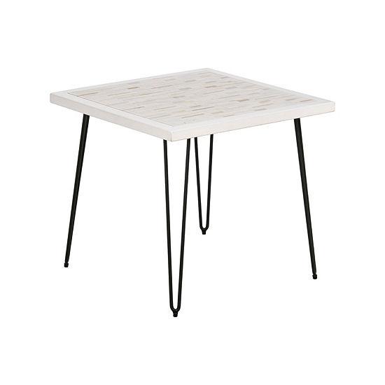 Inkivy Woodbrick End Table