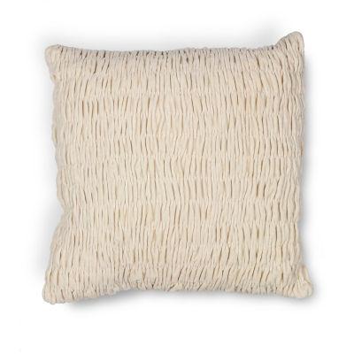 Kas Velvet Square Throw Pillow