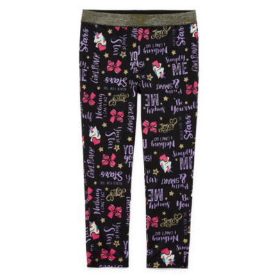 JoJo Siwa Pattern Ponte Leggings - Preschool Girls