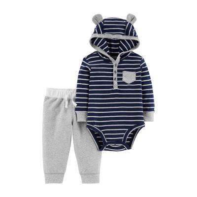 Carters Bodysuit Pant Set -Baby