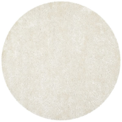 Safavieh Shag Collection Wallace Solid Round Area Rug