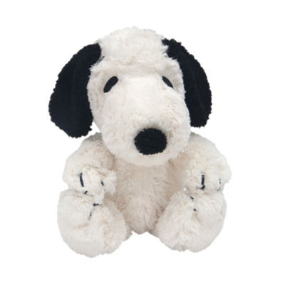 Lambs Ivy Peanuts My Little Snoopy White Black Plush Dog Snoopy