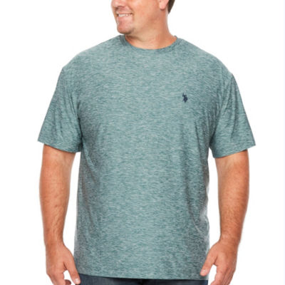 Us Polo Assn. Mens Crew Neck Short Sleeve T-Shirt-Big and Tall