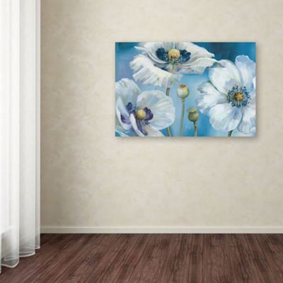 Trademark Fine Art Lisa Audit Blue Dance I GicleeCanvas Art