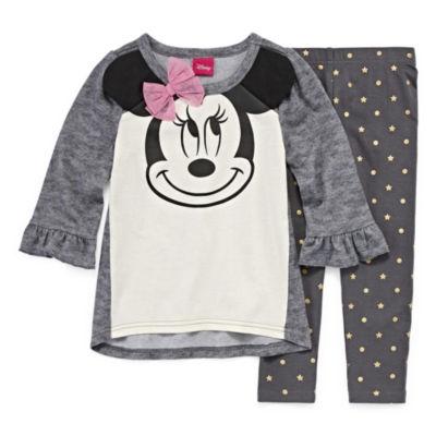 Disney 2-pc Minnie Mouse Set- Toddler Girls