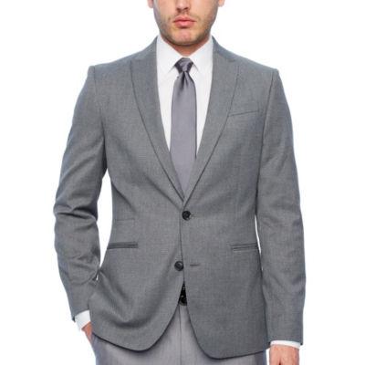 JF J.Ferrar Slim Fit Diamond Sport Coat - Slim