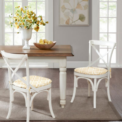 Madison Park Ella Printed Diamond Set of 2 Chair Pads
