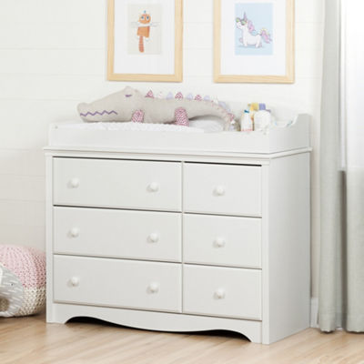 Angel Changing Table/Dresser with 6 Drawers