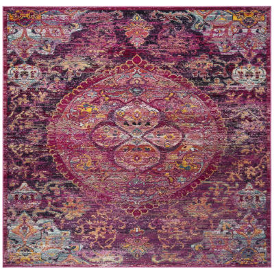 Safavieh Crystal Collection Madilyn Oriental Square Area Rug