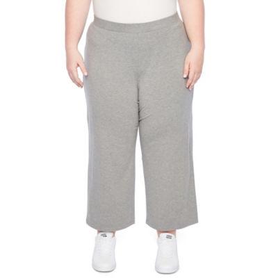 Liz Claiborne Studio Cropped Pant- Plus