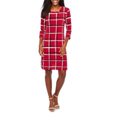 Alyx 3/4 Sleeve Shift Dress