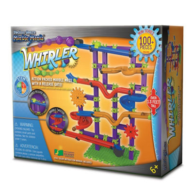 The Learning Journey Techno Gears Marble Mania - Whirler (100+ pcs)