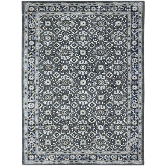 Amer Rugs Castille AC Hand-Tufted Wool and Viscose Rug