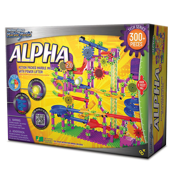 The Learning Journey Techno Gears Marble Mania Alpha 2.0  (300+ pcs)