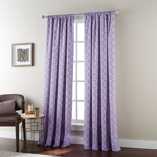 Alex Rod-Pocket Curtain Panel