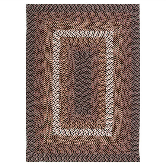 Better Trends Woodbridge Braided Rectangular Reversible Indoor Rugs
