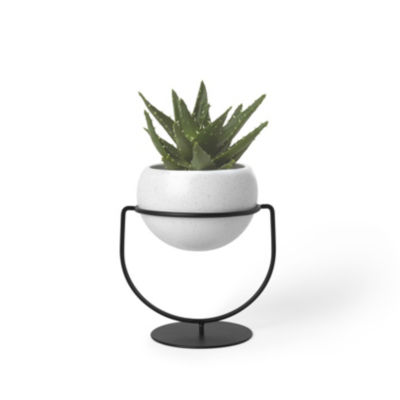 Umbra Nesta Planter White Speckle Planter