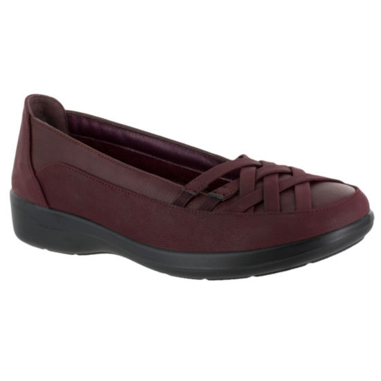 Easy Street Womens Vista Slip-On Shoe Round Toe