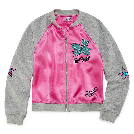 JoJo Siwa Girls Lightweight Bomber Jacket