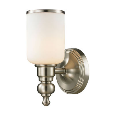 Bristol Way 1 Light LED Vanity with Opal White Glass