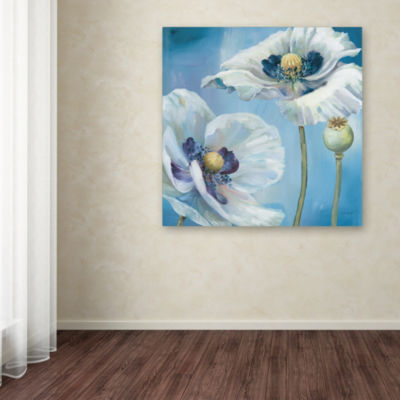 Trademark Fine Art Lisa Audit Blue Dance II GicleeCanvas Art