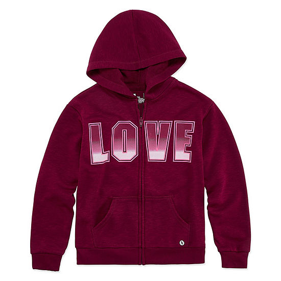 Xersion French Terry Zip Hoodie - Girls 4-16 & Plus