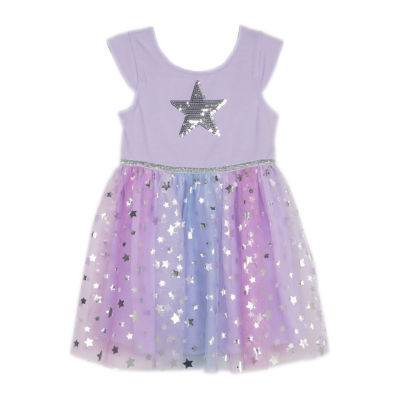 Lilt Short Sleeve Tutu Dress - Toddler Girls