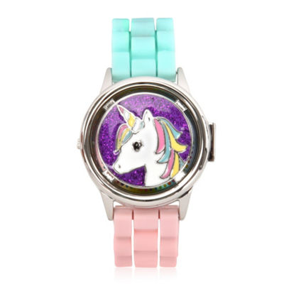 Limited Too Girls Multicolor Strap Watch-Lmt90087jc
