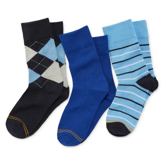 Gold Toe Dress Socks 3pk- Boys
