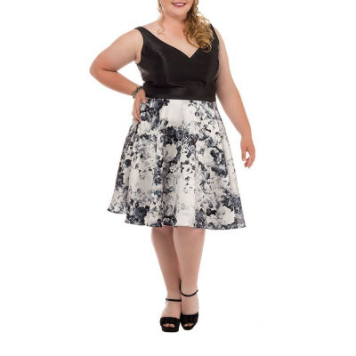 Sydney's Closet Party Dress-Juniors Plus